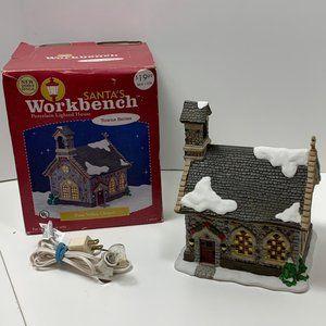 "Santa""s Workbench PINE VALLEY CHAPEL Village House"